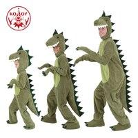 T rex Dinosaur Costume Adult/Kid Halloween Cosplay Funny Animal Fancy Dress halloween costume for kids