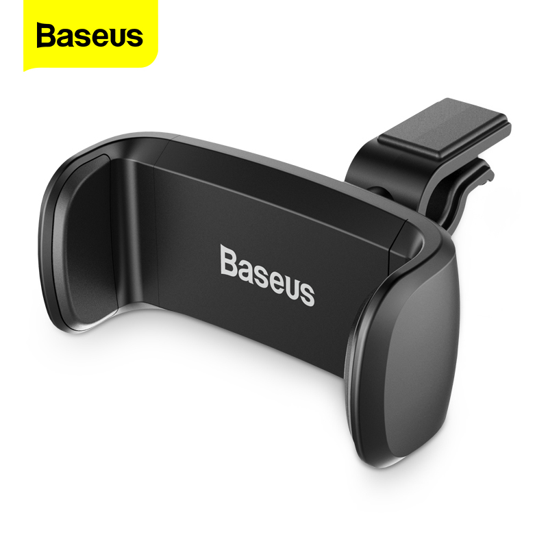 Baseus Car Phone Holder For IPhone Xiao Mi Samsung Air Vent Mount Car Holder For Phone In Car Cell Mobile Phone Holder Stand