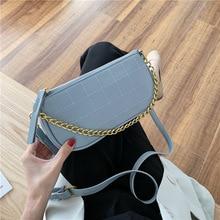Mini Chain Crossbody Bags for Women 2020 Sac A Main Femme Ladies Handbags Women Designer PU Leather Shoulder Bag Bolso Mujer