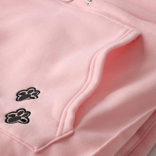 2019 fashion long sleeve casual hooded Kangaroo Pet Dog Cat Holder Carrier Pregnancy Coat loose Sweatshirt Pregnancy Pocket Top 6