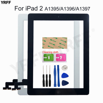 For iPad 2/3/4/5/Air Touch screen A1395 A1396 A1397 A1416 A1430 A1458 A1474 A1475 touch Screen Digitizer Sensor Glass Panel netcosy for ipad 2 a1376 a1395 a1397 a1396 tablet lcd display screen perfect replacement parts digital accessory for ipad 2