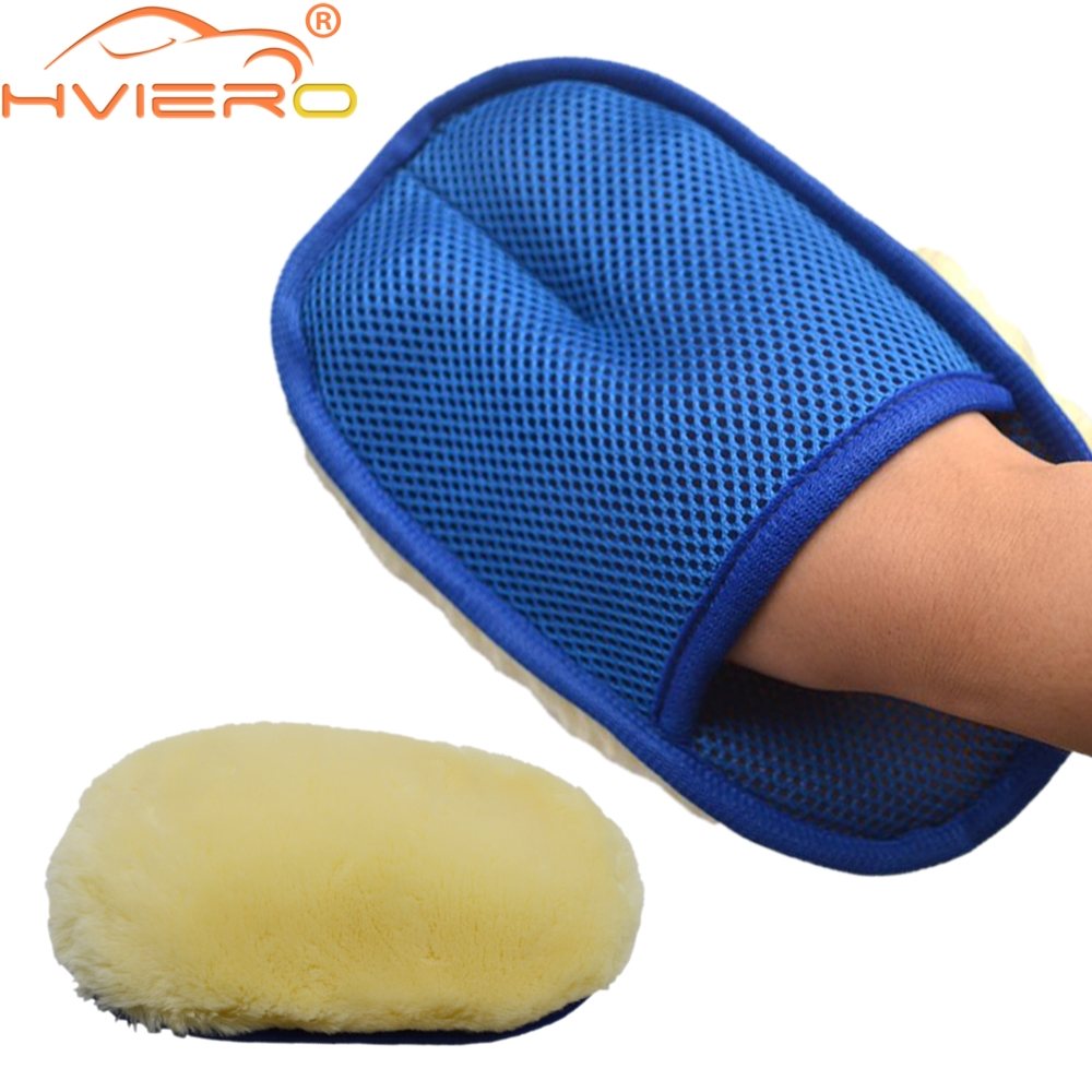 Car Styling Soft Wool Car Wash Auto Cleaning Glove Car Motor Motorcycle Brush Washer Car Care Products Cleaning Tool Brushes 3