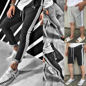 2020 Fashion Men Gym Casual Pa
