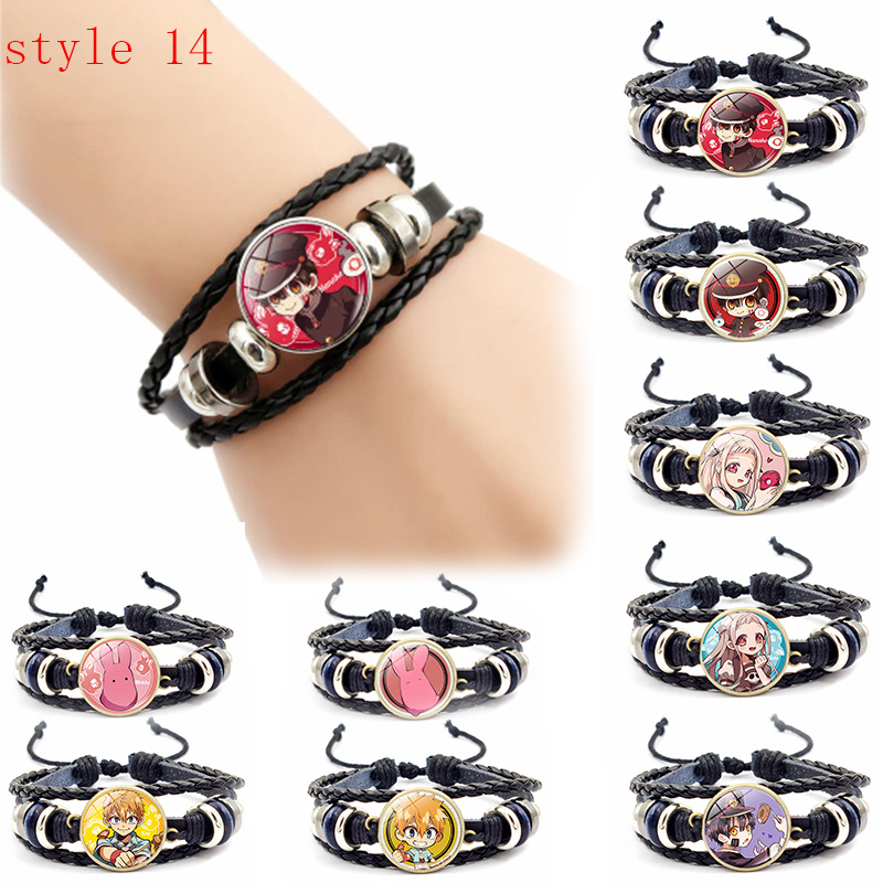 Toilet-bound Hanako-kun Yugi Amane Cosplay Wristband Bracelet Nene Yashiro Time Gem Cabochon Prepared By Bracelets Accessories
