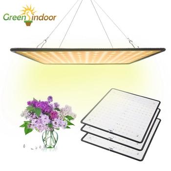 Crescer tenda 1000 w 3500 k led crescer painel de luz espectro completo lâmpada para plantas branco quente leds phyto lâmpada para flores interior fitoamp