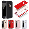 360 Full Cover Phone Case For IPhone 8 6 6S 7 Plus 5 5s SE Protective Cover For IPhone 7 8 Plus 11 Pro XS MAX XR Case With Glass