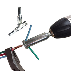 Image 2 - Electrician General Automatic Wire Stripper and twisted wire Tool Quick Automatic Stripper Line Cable Peeling Twisting Connector