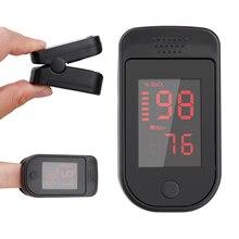 Finger Pulse Oximeter Fingertip LED Pulse Oximeters Saturator Family Health Care Gift Fingertip Oximeter New