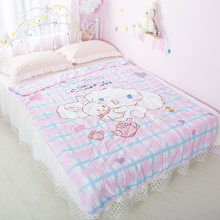 Cinnamoroll Unicorn Animals Dog Printed Creative Bed Sheets Quilt Cover Children boy girl Bedroom Soft Stuffed Gift Doll toy New(China)