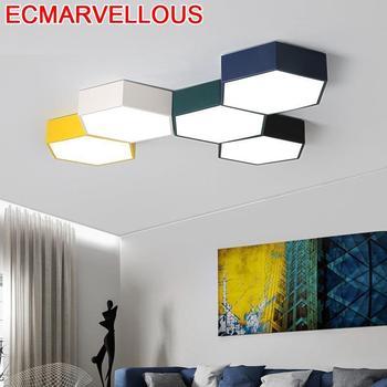 Moderne Lampe Für Wohnzimmer Decor Sufitowa Leuchte Plafon Vintage LED Plafonnier Luminaria Teto Lampara De Techo Decke Licht