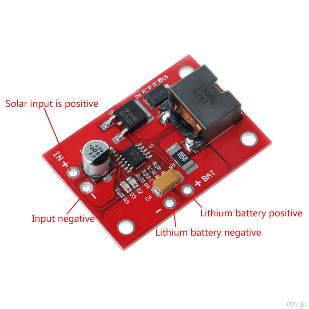 1 zelle Lithium-Batterie Lade 3,7 V 4,2 V CN3791 MPPT Solar Panel Regler Solar Controller Neue Drop schiff LS'D werkzeug