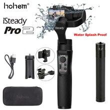 جهاز هوهيم آي ستايد برو 2 مقاوم للماء ثلاثي المحاور مثبت أفقي محمول باليد لكاميرا جوبروزمو أكشن سيكام سبورت أكشن