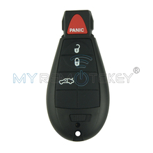 New type keyless entry remote key fob Fobik 3 button with panic 434mhz for Chrysler Dodge Jeep IYZ-C01C Free Shipping