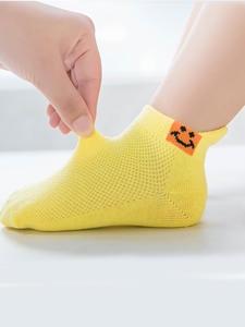 Socks Toddler Short Rainbow-Sock Funny Baby Girls Striped Boys Kids 5-Pairs-Lot Cotton