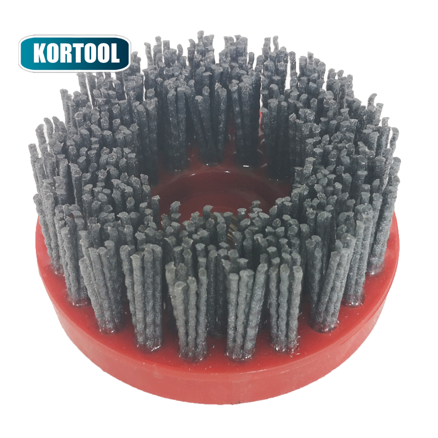 4 Inch Antiquing Silicone Carbide Brushes For Granite Stone Marble 5//8-11 Thread