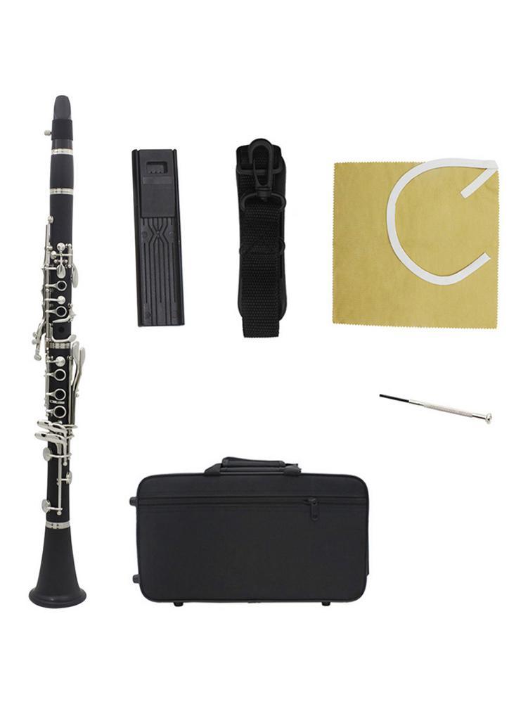 Instrument de clarinette musicale bakélite outil de jeu professionnel Oxford pince à tissu pour les débutants livraison rapide de haute qualité