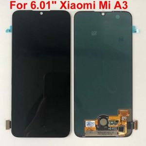 "Image 5 - Tela lcd amoled para xiaomi, teste de impressão digital para xiaomi 6.01 "", tela lcd para xiaomi mi a3 1906f9 + painel touch digitalizador xiaomi mi cc9e"