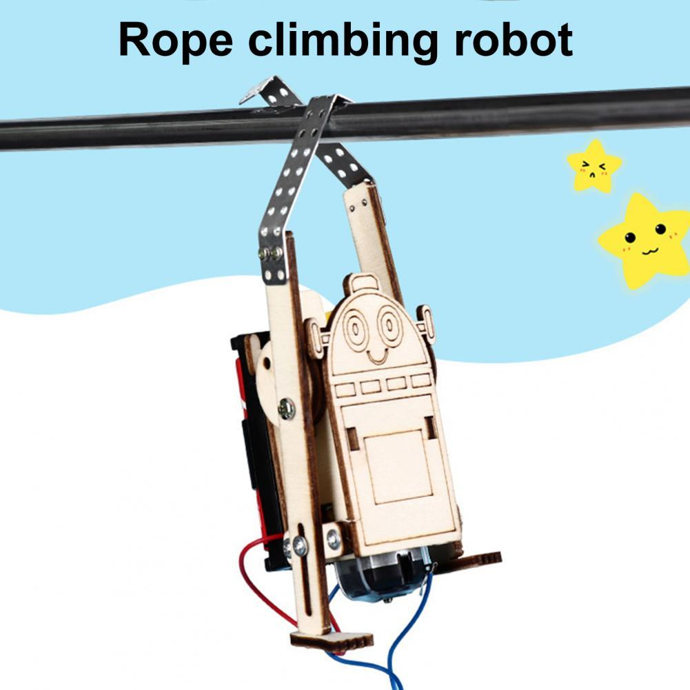 Wooden Rope Climbing Robot 1