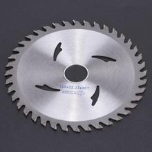 Lame de scie circulaire en carbure, disque de coupe rotative pour le travail du bois, 115mm/125mm, 40T