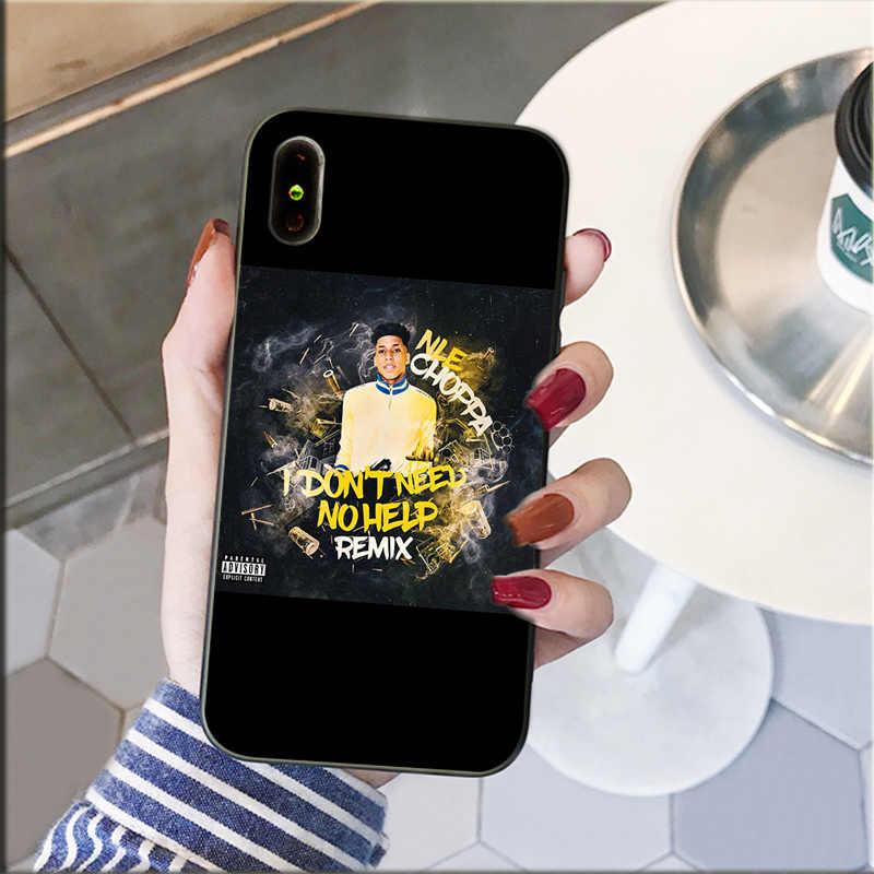 Nle Choppa Phone Case For Iphone Xr 11 Pro Maxxs Max 8 7 6 6s Plus X 5 5s Se 12 Mini 12promax Phone Case Covers Aliexpress