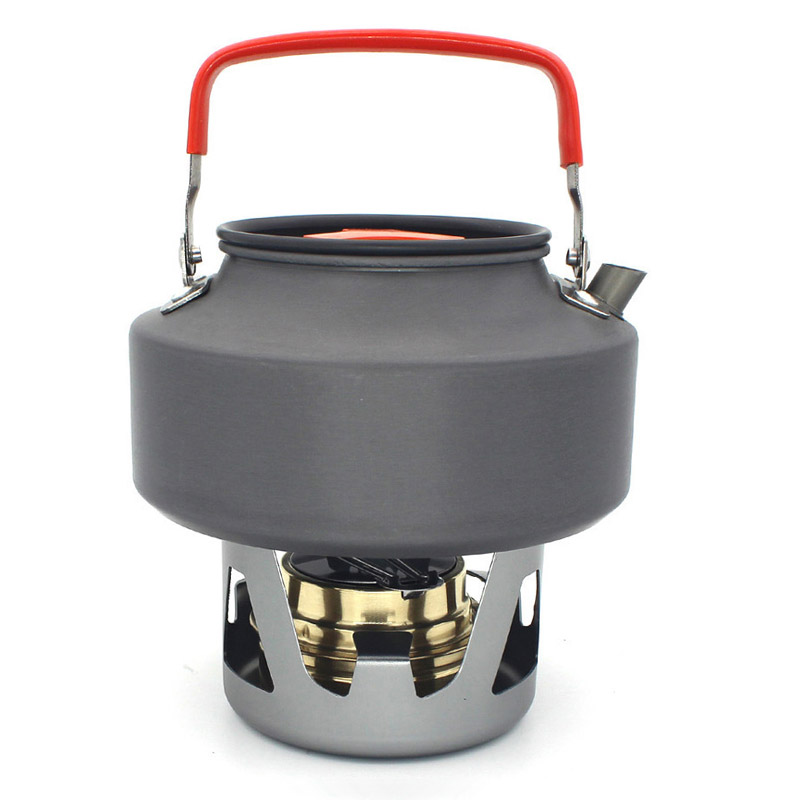 Portable Alcohol Stove Outdoor Mini Spirit Burner Cooker Camping Cooking