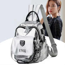 Fashion small backpack 2020 New mini backpack women Bookbag leather backpack Large capacity School bags Travel backpack purse - DISCOUNT ITEM  25% OFF Luggage & Bags