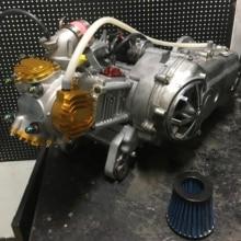 Двигатель bws 125 zuma cygnus 220 cc полный комплект тюнинг BWSP головка цилиндра EX 25 в 23 гоночный cvt комплект мощный стартер