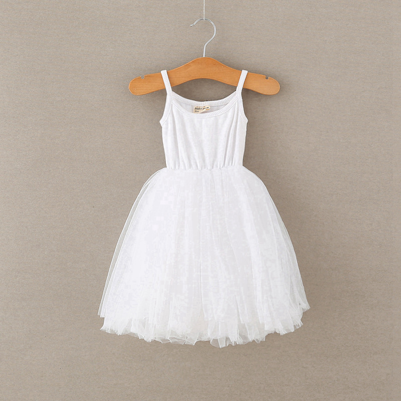 A-line Kids Dresses For Girls Clothing Solid Sling Teenager Casual Children Girl Dress Holiday Vestido Infantil 6 7 8 Years 5