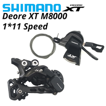 SHIMANO DEORE XT M8000 11s Groupset SL M8000 SHIFT LEVER + RD M8000 GS REAR DERAILLEUR 11 Speed SHIFTER GS MTB Bicycle Parts