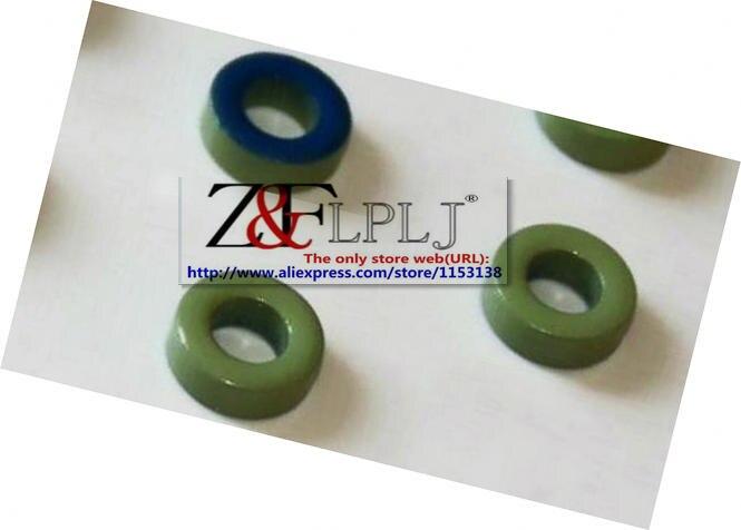 Сине-зеленое кольцо 9.53x5.21x3.25 мм высокочастотное железное порошковое кольцо/магнитное ядро против помех OD9.53 * id5.21 мм 200 шт./лот