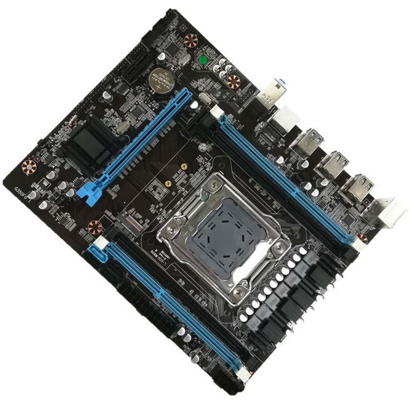 HOT-New X79 Desktop Computer Motherboard Lag2011 M.2 Interface Supports Ddr3 Recc Memory E5 2680Cpu