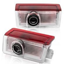 Safego 2 pcs LED Door Projector Lights For Mercedes-Benz GLC GLE GLS GLA A B E Car Lighting Step Courtesy Welcome