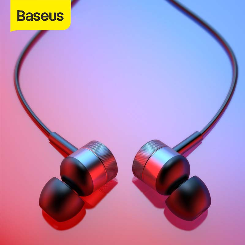 Baseus H04 Earphone Stereo Headset In Ear Earbuds 3.5mm Jack Wire Earphone With Mic for iPhone 6s Xiaomi Samsung fone de ouvido|Phone Earphones & Headphones|   - AliExpress