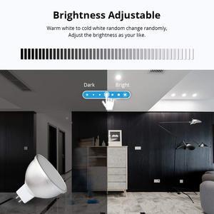 Image 5 - Boaz חכם Wifi GU5.3 אור חכם הנורה RGBW צבעוני Wifi חכם זרקור קול שלט רחוק Alexa הד Google בית IFTT