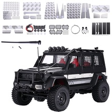 Metal Simulated Decorations Upgrade Part for MN Model MN86 MN86S MN86K MN86KS 1:12 RC Car DIY Anti-slip board Mesh Car Accessory