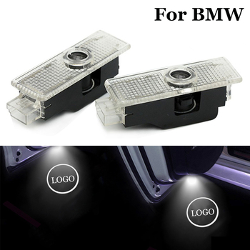 Car Door Welcome Light Auto Logo Led Courtesy Lights Projector Shadow Lamp For bmw X1 E84 X3 E83 F25 M3 E90 E91 E60 E70 X5 X6 image