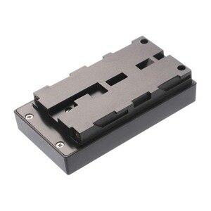 Image 2 - LP E6 Battery Plate Holder Converter for Fotga A50 T TL TLS Camera Field Monitor