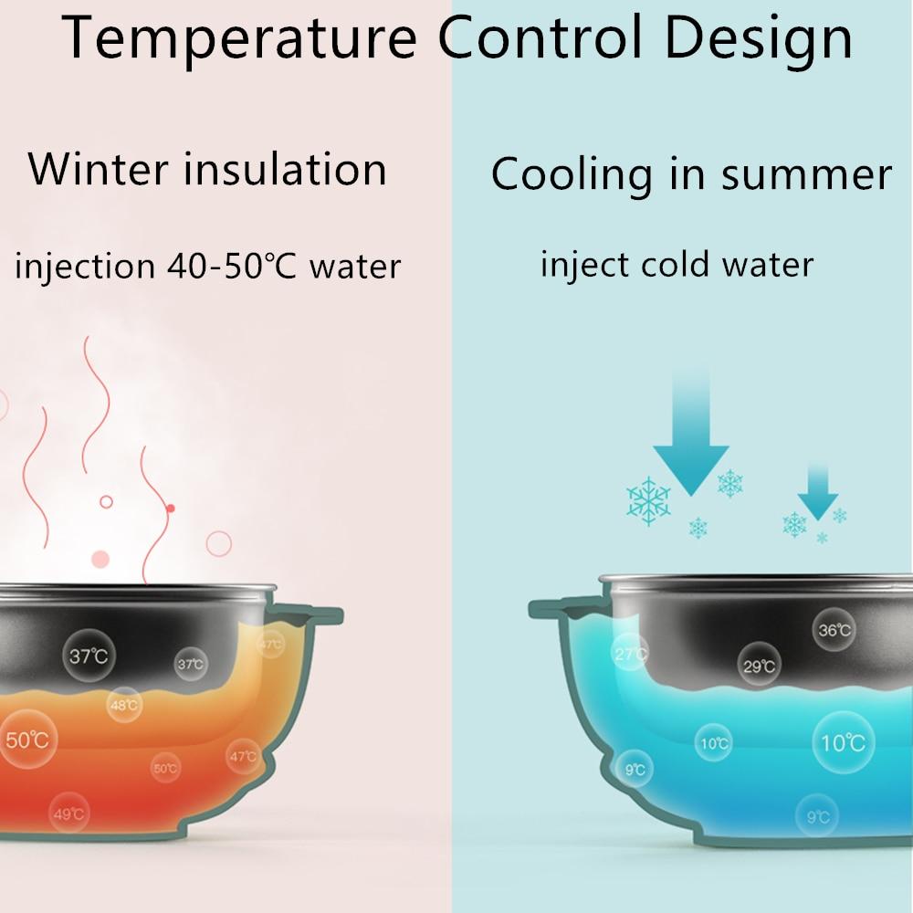alimentação de alimentos térmicos aço inoxidável do