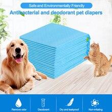 4 размера, супер абсорбирующие одноразовые подгузники для домашних животных, тренировочные подушечки для собак, одноразовые гигиенические пеленки для собак, кошек