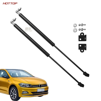Front Hood Engine Cover Supporting Hydraulic Rod Strut Spring Shock Bars Bracket for Volkswagen VW polo plus 2019