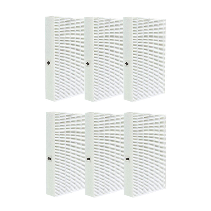 -6 Pcs HEPA Filters Replacement for Honeywell Air Purifier Series HPA090 HPA100 HPA200 HPA250 & HPA300 HRF-R6