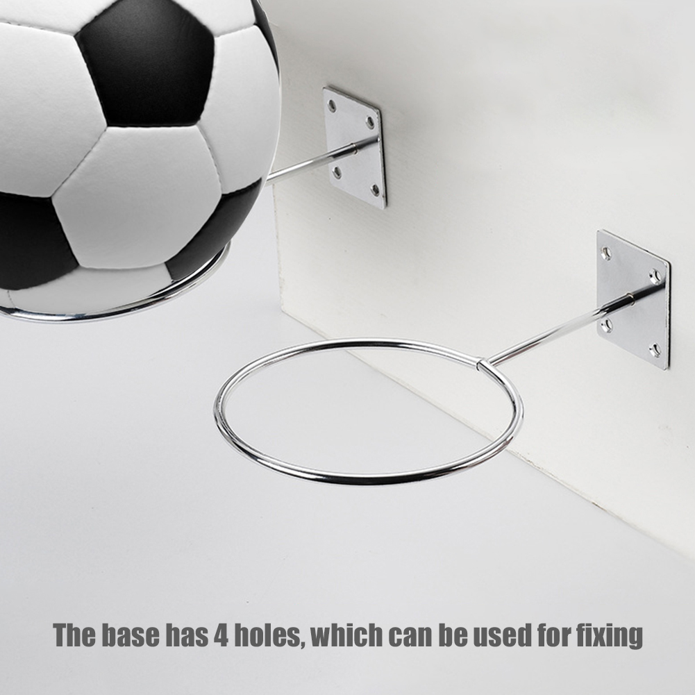 Ball Display Stand Football Basketball Volleyball Anti-Rust Placement Wall Rack For House Decoration