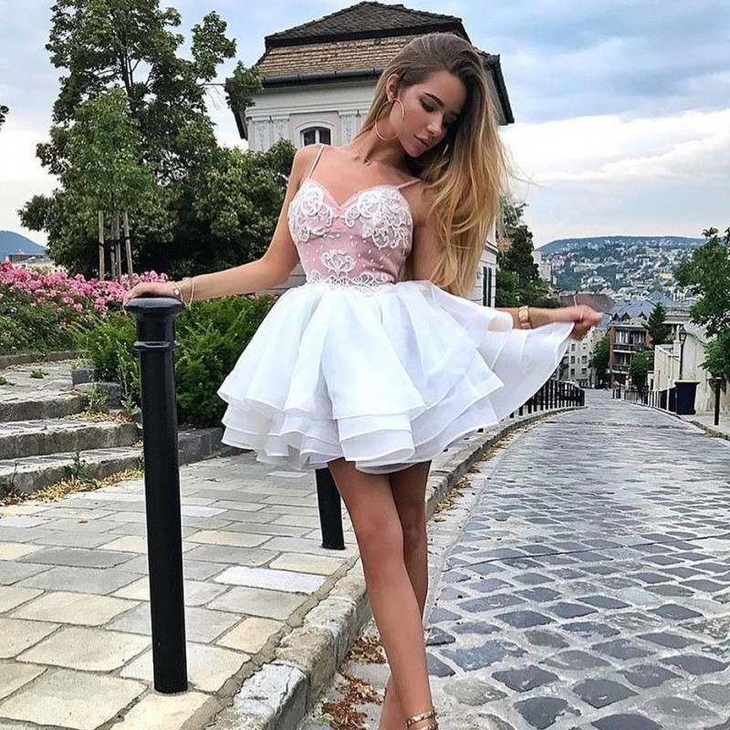 Cocktail Homecoming Dresses Short Prom Evening Formal Dress Long Party Gown 2019 Robe Soiree Robe De Soiree