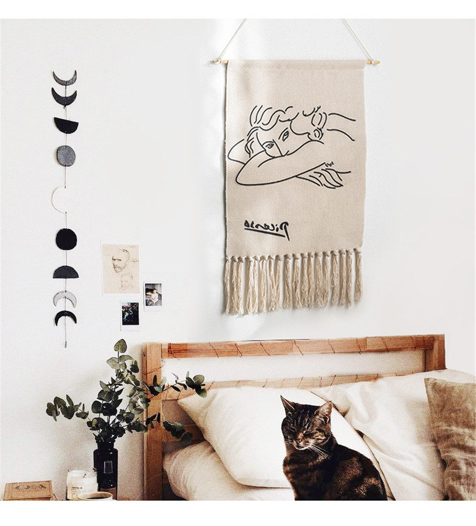 Printed Tapestry Simple Wall Decor