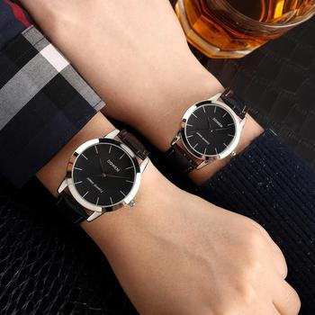 Shifenmei Couple Watch Mens Watches Top Brand Luxury Quartz Watch Women Clock Ladies Dress Wristwatch Simple Lovers Watches couple watches for lovers luxury wood watch mens fashion wooden women dress clocks gifts for valentine s day relogio de casal