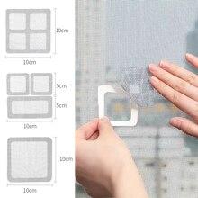 Ремонт экрана окна наклейка на фиксирующая сетка домашний клей