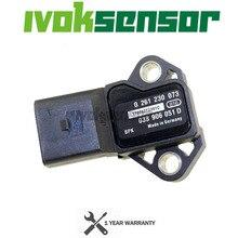 038 906 051 D Manifold Absolute Turbo Kaart Sensor Boost Druk Drucksensor Sender Voor Audi A3 A4 A6 Q3 S3 tt 1.8 2.0 Tfsi Fsi T