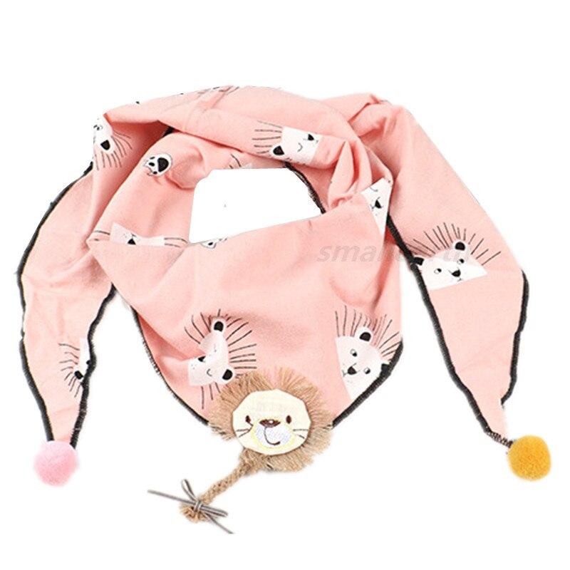 Весенние клетчатые треугольные шарфы в горошек для маленьких девочек; осенне-зимняя шаль для мальчиков и девочек; Детские хлопковые воротники; теплый детский шейный платок - Цвет: B5