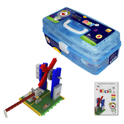 My Robot Time MRT New Kicky Colorful Robots Bulding Block Kit Assembly Educational Robot Toy for Beginner 4-7 Years Old