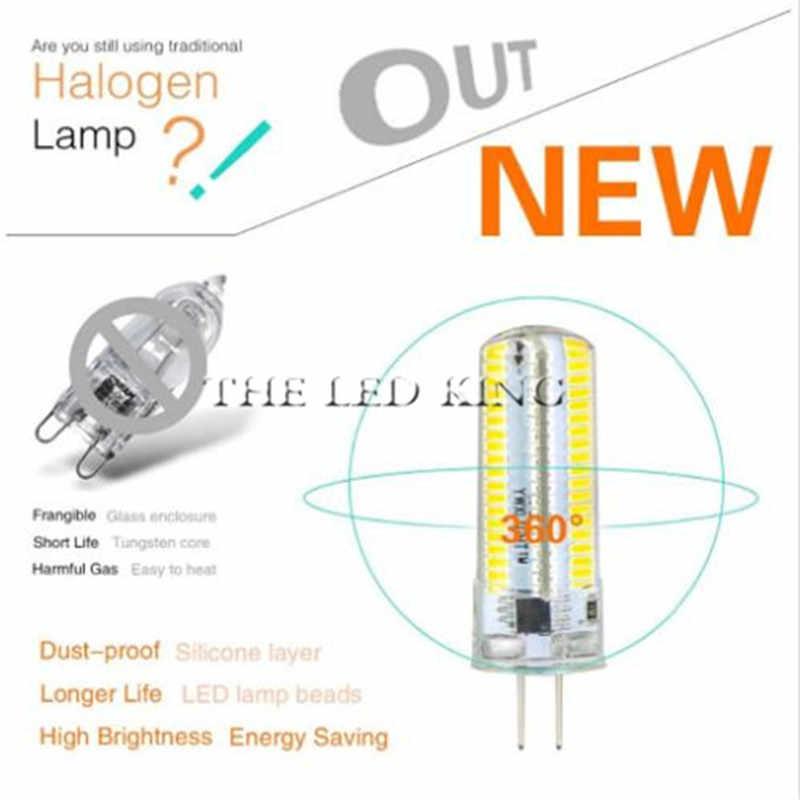 G4 SMD 3014 LED 2835 AC DC 12V 220V 3W 5W 9W 12W 15W Ganti 15 W-100 W Lampu Lampu Beam 360 Sudut Natal Lampu LED Bulb